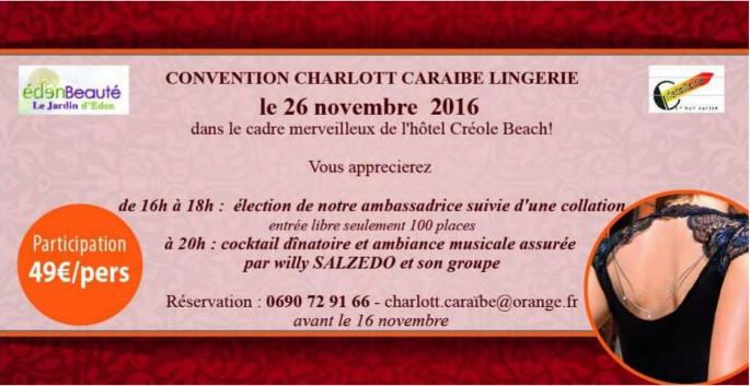 Convention Charlott'Caraibe