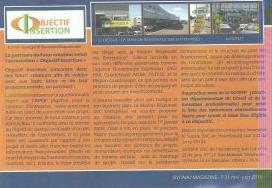 Objectif Insertion pour le magazine Siyonaj
